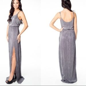BCBGeneration High Slit Metallic party/prom Small
